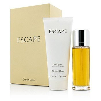Calvin Klein Escape Coffret: EDP Spray 100ml/3.4oz + Body Lotion 200ml/6.7oz 2pcs