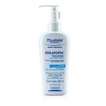 Mustela Stelatopia Cream Cleanser (Exp. Date: 02/2017)  200ml/6.7oz