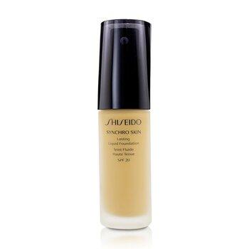 Купить Synchro Skin Стойкая Жидкая Основа SPF 20 - Golden 4 30ml/1oz, Shiseido