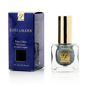Estee Lauder Pure Color Nail Lacquer - # 04 Smoked Chrome  9ml/0.3oz