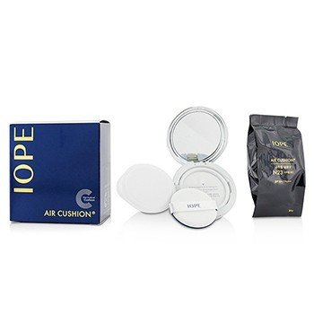 IOPE Natural Glow Air Cushion SPF50 With Extra Refill - #N23 (Natural Sand) 2x15g/0.525oz