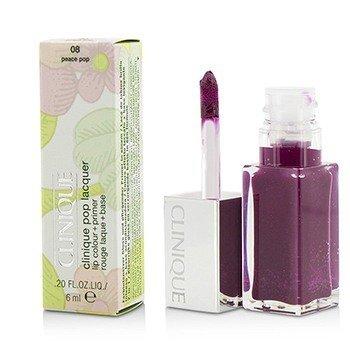 Clinique 6ml/0.2oz Pop Lacquer Lip Colour + Primer  - # 08 Peace Pop 6ml/0.2oz