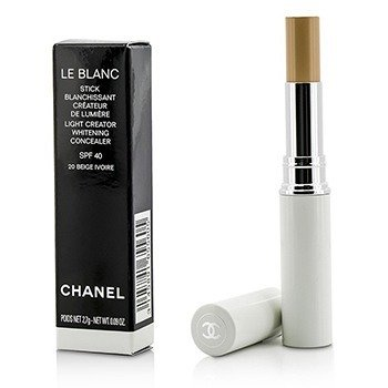 Chanel Le Blanc Light Creator Whitening Concealer SPF 40 - #20 Beige Ivorie  2.7g/0.09oz