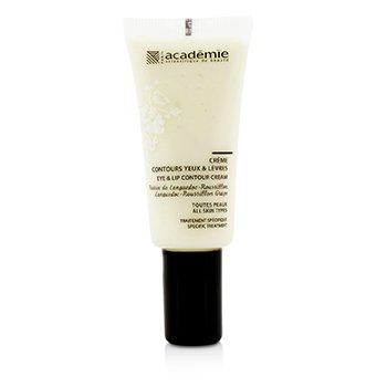 Academie Aromatherapie Eye & Lip Contour Cream - For All Skin Types  15ml/0.5oz