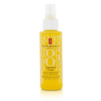 Elizabeth Arden Eight Hour Cream All-Over Miracle Oil - For Face  Body & Hair 100ml/3.4oz