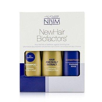 Nisim Normal to Oily Tripack Original Formula: Shampoo 240ml + Conditioner 240ml + Hair and Scalp Extract 240ml  3pcs