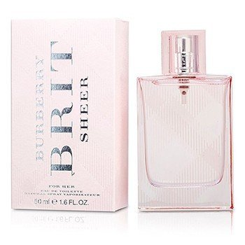 Burberry Brit Sheer Eau De Toilette Spray  50ml/1.7oz