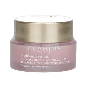 Купить Мультиактивный Дневной Антиоксидантный Крем против Тонких Линий - для Сухой Кожи 50ml/1.6oz, Clarins