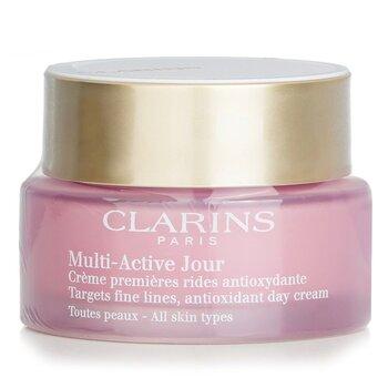 Купить Мультиактивный Дневной Антиоксидантный Крем против Тонких Линий - для Всех Типов Кожи 50ml/1.6oz, Clarins