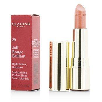 Joli Rouge Brillant (moisturizing Perfect Shine Sheer Lipstick) # 29 Tea Rose Clarins Joli Rouge Brillant (moisturizing Perfect Shine Sheer Lipstick) # 29 T