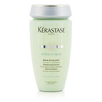 Купить Specifique Bain Divalent Балансирующий Шампунь (для Чувствительных Волос с Жирными Корнями) 250ml/8.5oz, Kerastase
