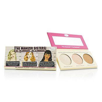 TheBalm The Manizer Sisters (Betty Lou Manizer  Cindy Lou Manizer  Mary Lou Manizer) 3x3g/0.11oz