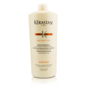 Image of Kerastase Nutritive Bain Magistral Fundamental Nutrition Shampoo (Severely Dried-Out Hair) 1000ml/33.8oz