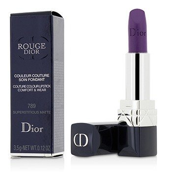 Christian Dior 3.5g/0.12oz Rouge Dior Couture Colour Comfort & Wear Matte Lipstick - # 789 Superstitious Matte 3.5g/0.12oz