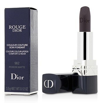 Christian Dior 3.5g/0.12oz Rouge Dior Couture Colour Comfort & Wear Matte Lipstick - # 962 Poison Matte 3.5g/0.12oz