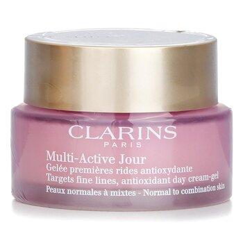 Купить Multi-Active Day Дневной Крем-Гель с Антиоксидантами против Тонких Линий - для Нормальной и Комбинированной Кожи 50ml/1.7oz, Clarins