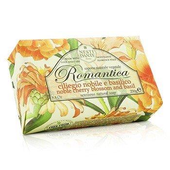 Romantica Sensuous Натуральное Мыло - Цветы Вишни и Базилик 250g/8.8oz