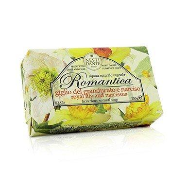 Romantica Luxurious Натуральное Мыло - Королевская Лилия и Нарцисс 250g/8.8oz