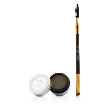 Billion Dollar Brows 60 Seconds To Beautiful Brows Kit (1x Brow Powder& 1x Dual Ended Brow Brush) - Taupe 2pcs