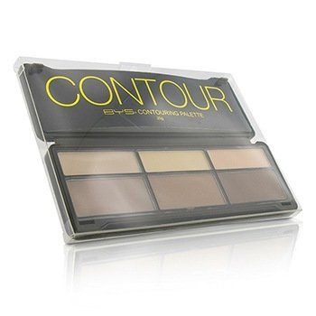 BYS Contour Palette (3x Contouring Powder  3x Highlighting Powder) 20g/0.7oz