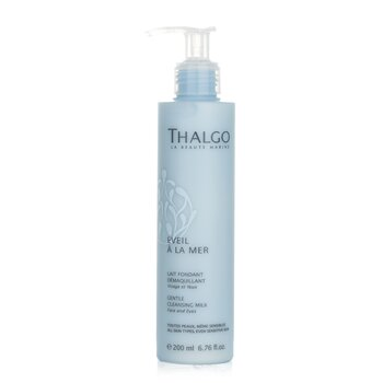 Thalgo Eveil A La Mer Gentle Cleansing Milk (Face & Eyes) - For All Skin Types  Even Sensitive Skin 200ml/6.76oz