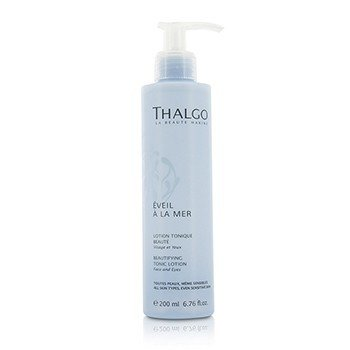 Thalgo Eveil A La Mer Beautifying Tonic Lotion (Face & Eyes) - For All Skin Types  Even Sensitive Skin 200ml/6.76oz