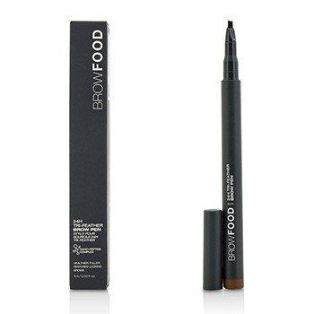 Купить BrowFood 24H Tri Feather Карандаш для Бровей - Dark Brunette 1ml/0.03oz, LashFood