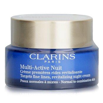 Купить Multi-Active Night Восстанавливающий Ночной Крем против Тонких Линий - для Нормальной и Комбинированной Кожи 50ml/1.6oz, Clarins