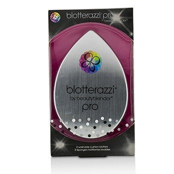 BeautyBlender Blotterazzi (2x Washable Oil Blotting Sponges) - Pro (Black) 2pcs