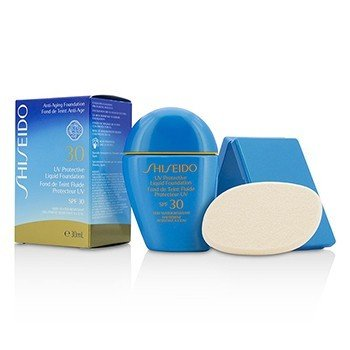 Image of Shiseido UV Protective Liquid Foundation   Dark Beige 30ml1oz