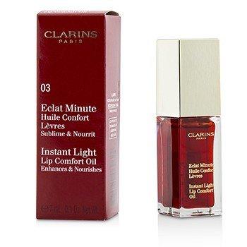 Купить Eclat Minute Instant Light Комфортное Масло для Губ - # 03 Red Berry 7ml/0.1oz, Clarins