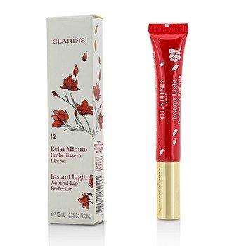 Купить Eclat Minute Instant Light Натуральный Блеск для Губ - # 12 Red Shimmer 12ml/0.35oz, Clarins