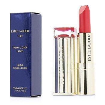 Купить Pure Color Love Lipstick - #330 Wild Poppy 3.5g/0.12oz, Estee Lauder
