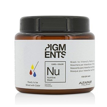 AlfaParf Pigments Nutritive Mask (For Dry Hair) 200ml/6.76oz