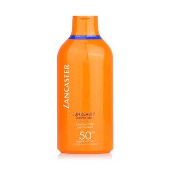 LancasterSun Beauty Velvet Fluid Milk SPF50 400ml 13.5oz