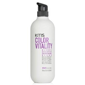 Купить Color Vitality Blonde Шампунь (Борется с Желтизной и Восстанавливает Сияние) 750ml/25.3oz, KMS California