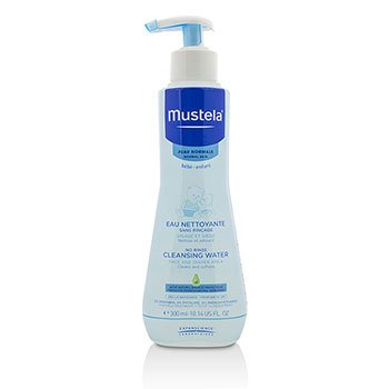 Mustela No Rinse Cleansing Water (Face & Diaper Area) – For Normal Skin 300ml|10.14oz