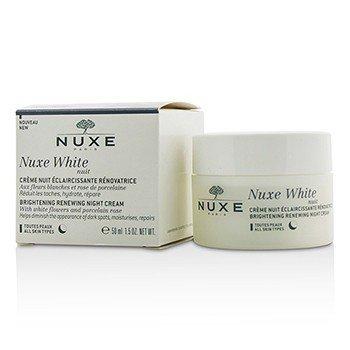 NuxeNuxe White Nuit Brightening Renewing Night Cream All Skin Types 50ml 1.5oz
