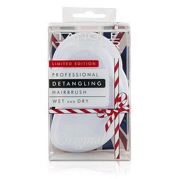 Tangle Teezer The Original Detangling Hair Brush - # Candy Cane (For Wet & Dry Hair) 1pc 21275156209