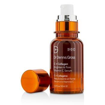 Купить C + Collagen Осветляющая и Укрепляющая Сыворотка с Витамином С 30ml/1oz, Dr Dennis Gross