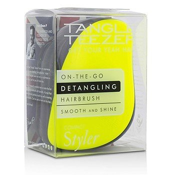 Compact Styler On-The-Go Распутывающая Щетка для Волос - # Lemon Zest 1pc
