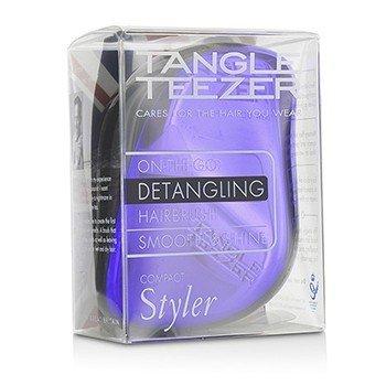 Compact Styler On-The-Go Распутывающая Щетка для Волос - # Purple Dazzle 1pc