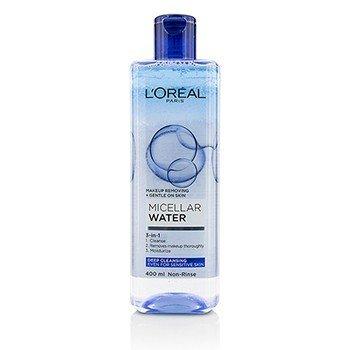 Купить 3-в-1 Мицеллярная Вода (Глубокое Очищение) - Даже для Чувствительной Кожи 400ml/13.3oz, L'Oreal