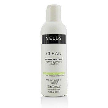 Купить Clean Мгновенное Мицеллярное Очищающее Средство - для Всех Типов Кожи (включая Чувствительную Кожу) 200ml/6.8oz, Veld's