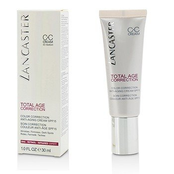 LancasterTotal Age Correction Color Correction Anti Aging Cream SPF15 02 Medium 30ml 1oz