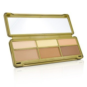 BYS Creme Contouring Palette (3x Contouring Powder  3x Highlighting Powder) 20g/0.67oz