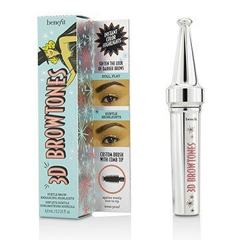 Benefit 3D Browtones Subtle Brow Enhancing Highlights - # 04 (Medium / Deep) 6ml/0.2oz