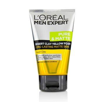 Men Expert Pure & Matte Desert Clay Пенка для Умывания 100ml/3.3oz