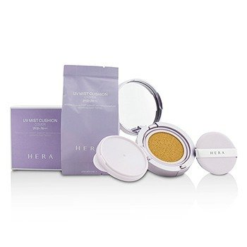 Hera Uv Mist Cushion Cover Spf50 With Extra Refill # C21 Vanilla Cover 2x15g/0.5oz