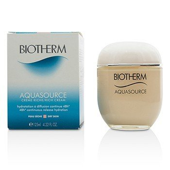 Biotherm Aquasource 48H Continuous Release Hydration Rich Cream - For Dry Skin 125ml/4.22oz